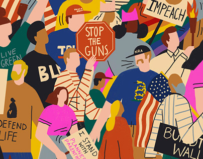 American Protest for Stanford Business Magazine