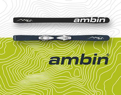 AMBIN SKIS . Branding & Website