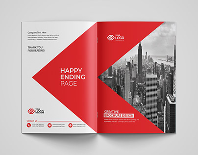 Bi-Fold Brochure Design Template