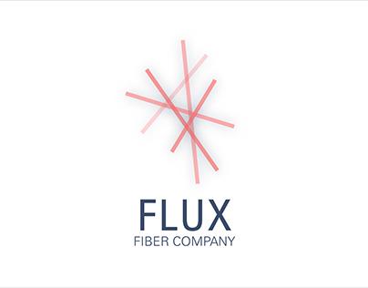 Flux Fiber Company Identity