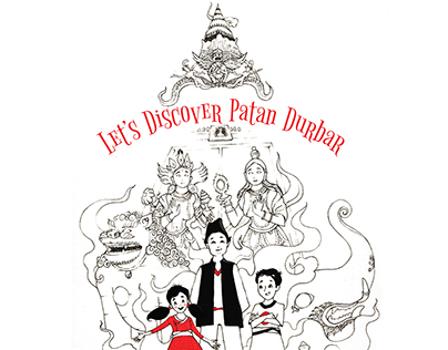 Let's discover Patan Durbar -interactive children's map