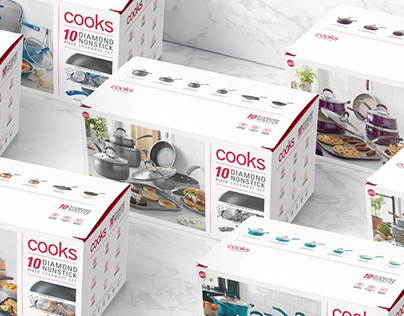 Cooks - Cookware Packaging Redesign