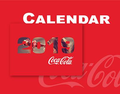 Table Calendar design for Coca Cola Armenia