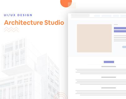 Architecture Studio - UX/UI Website Design