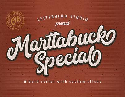 Marttabuck Special Font