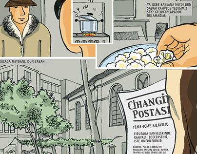 Comic Strip illustration