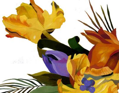 """illustration for """"Flower designer"""""""