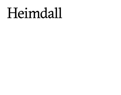 naming & verbal identity for Heimdall