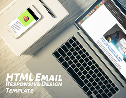 Device Responsive HTML Email template Design