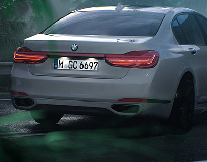 BMW 7 Series-Full CGI(Redshift3D)