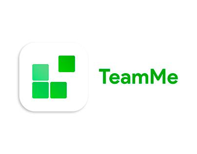 TeamMe - mobile app icon design