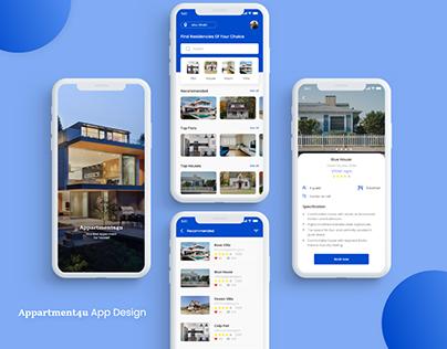 Appartment4u App Design