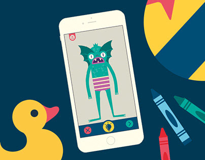 Kids App Game - Imaginary Monsters
