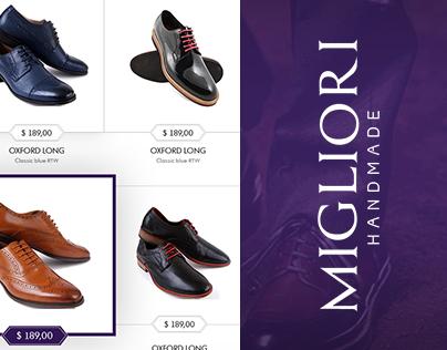 """Website design for """"Migiliori"""""""