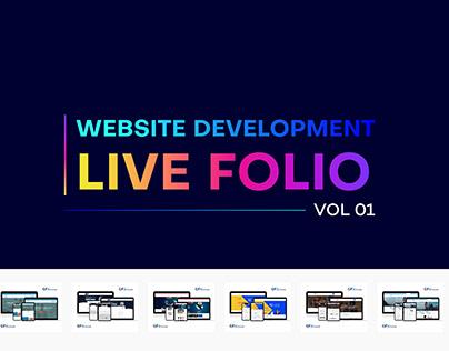 Website Development LIVE FOLIO VOL.01