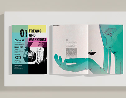 """Proyecto editorial """"Freaks and Warriors"""""""