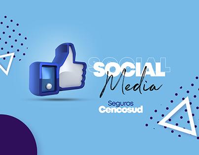 Social Media Seguros Cencosud
