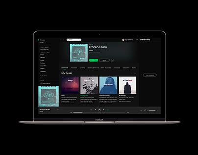 Frozen Tears - Lacuei / Spotify Album Cover