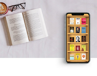Digital Book reading re-imagined - Interaction design