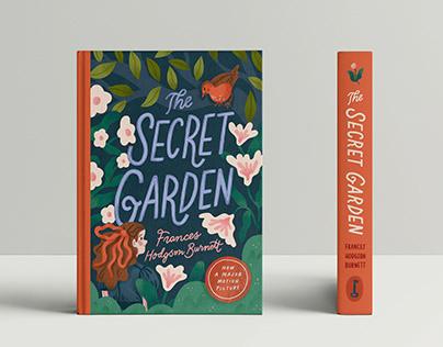 The Secret Garden Book Cover Design