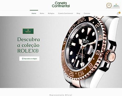 Website Caneta Continental - Rio de Janeiro - RJ