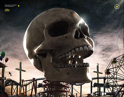 Halloween Skull Concept