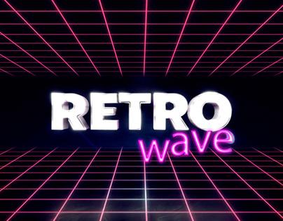 Retro Wave 80s VHS