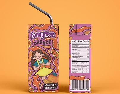 Packaging Design: Fruit Juice