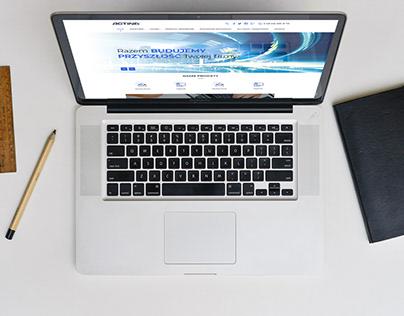 Actina / webdesign