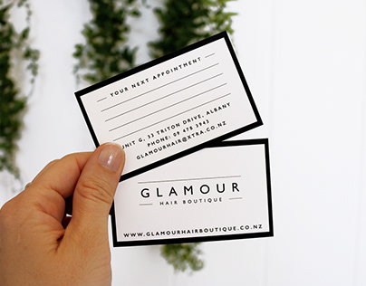 Glamour Hair Boutique Branding