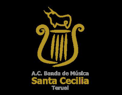 """A.C. Banda de Música """"Santa Cecilia"""" Identidad gráfica"""