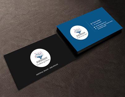 INFINIAN-business card mockups