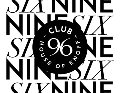 Club 96 - House of Knopf A personal Project.