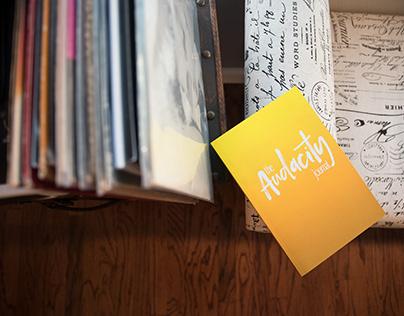 Audacity Journal ~ Lifestyle