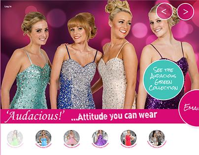 Audacious Prom Dresses website