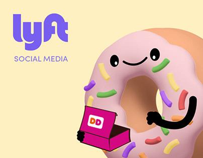 LYFT - Social Media animation