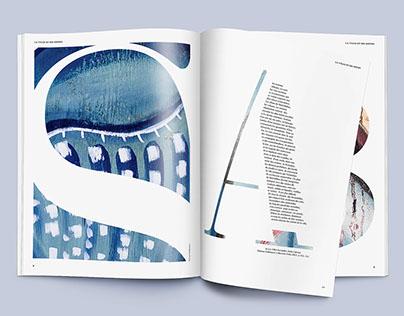 Editorial design: Les villes et les signes