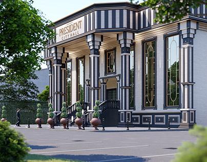President City Hall Landscape Design