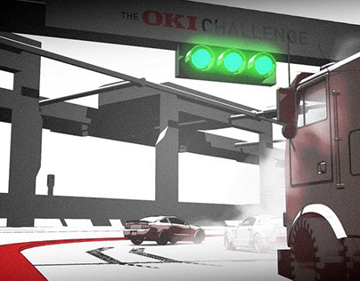 It's a Race Inside - OKI Roadshow challenge