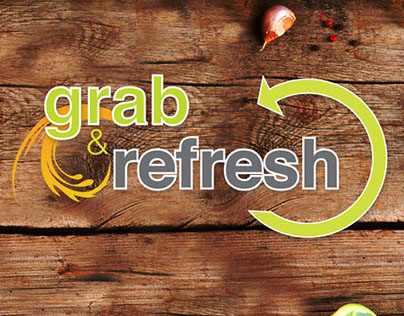 Logo & Branding : //012 : Grab & Refresh