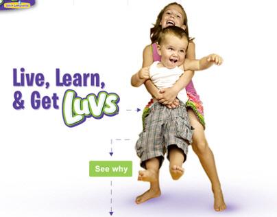 LUVS Website Concept