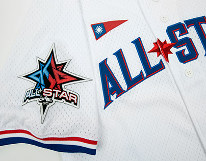 2019 CPBL ALL-STAR GAME JERSEY DESIGN