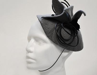 """Gray night"" - hat"