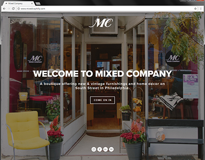 Mixed Company Website Design