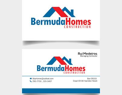 Business Card Design for Bermuda Homes