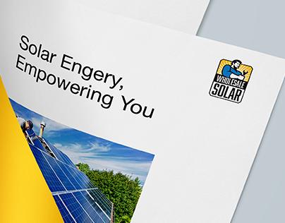Wholesale Solar Logo Design
