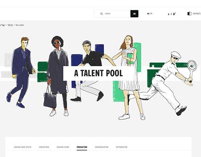 Lacoste site corporate