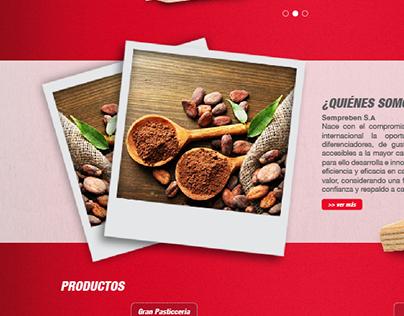 Diseño Página web Sempre Bene