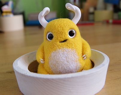 Yellow cutie horns