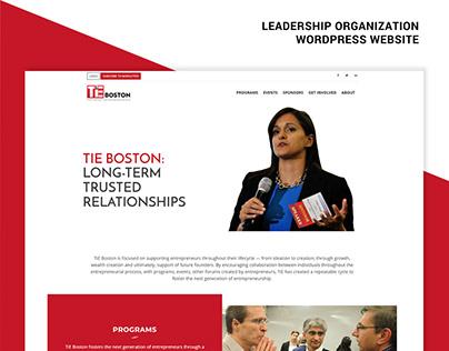 Entrepreneurship Organization Website